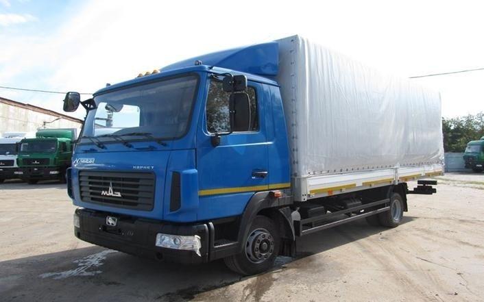 Фото №3:Бортовой автомобиль МАЗ-4371W1