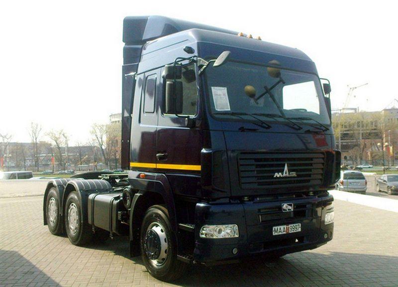 Фото №2:Седельный тягач МАЗ 6430В9