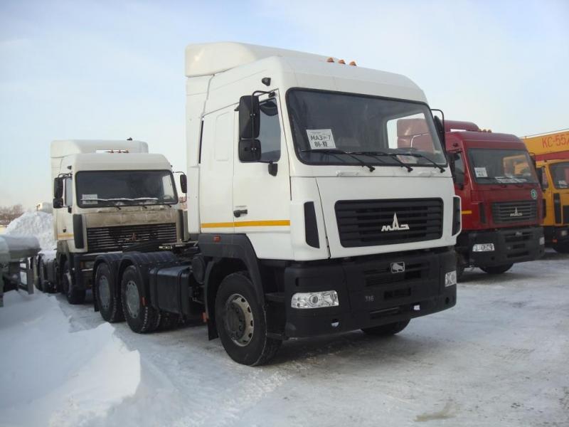 Фото №2:Седельный тягач МАЗ 643019